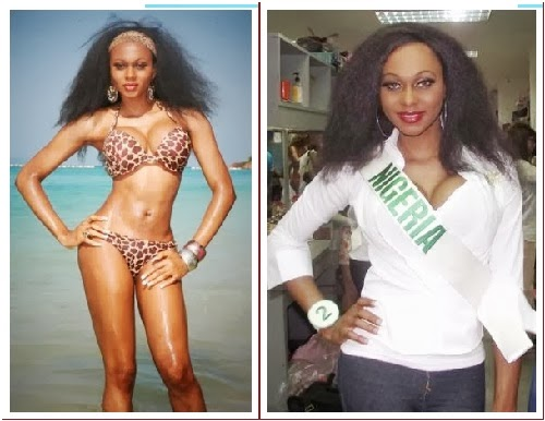 Nigeria's most beautiful transgender