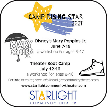 THIS MONTH'S SITE SPONSOR:Starlight Community Theater presents...