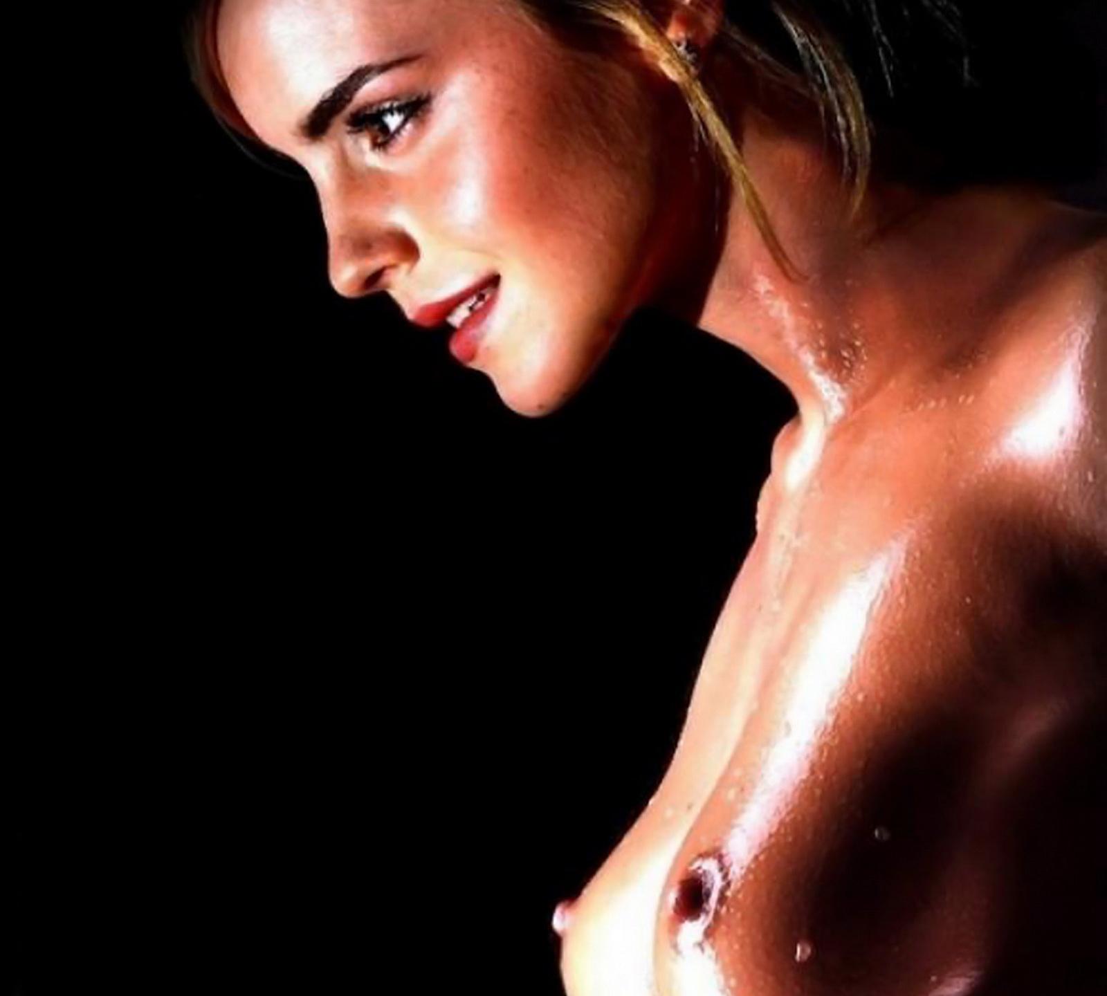 Emma Watson Topless Session