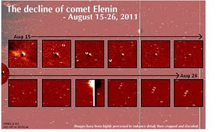 cometa elenin se desintegra