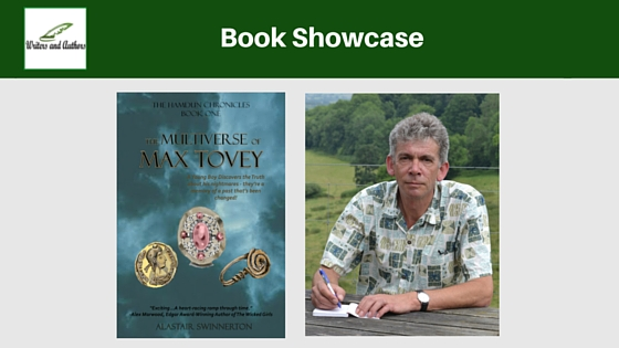 #BookShowcase: The Multiverse of Max Tovey by Alastair Swinnerton (with #Giveaway!)