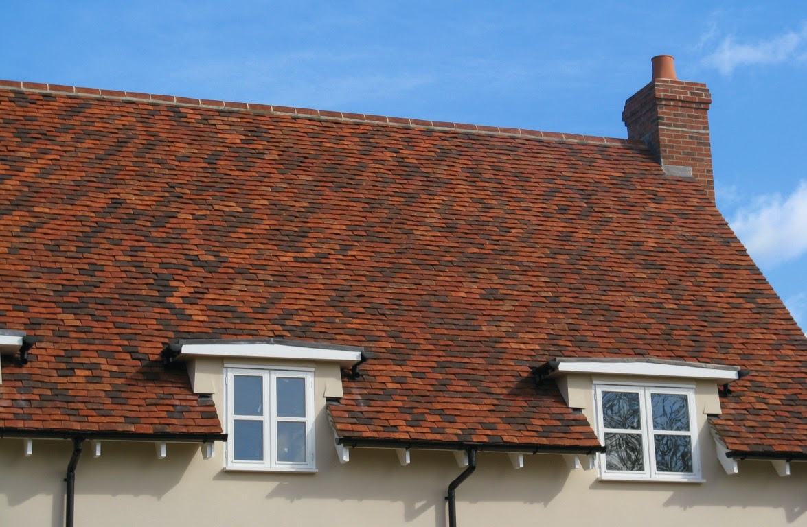 Tudor Roof Tiles Blog Being Creative With Plain Clay Roof Tiles