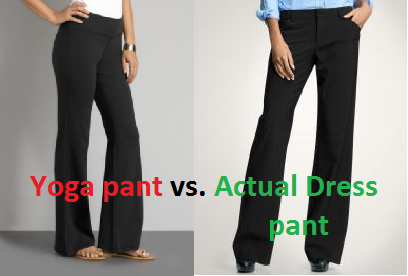 yoga style dress pants - Pi Pants