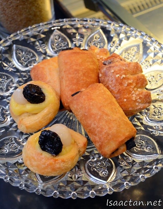Sweet savoury pastries..