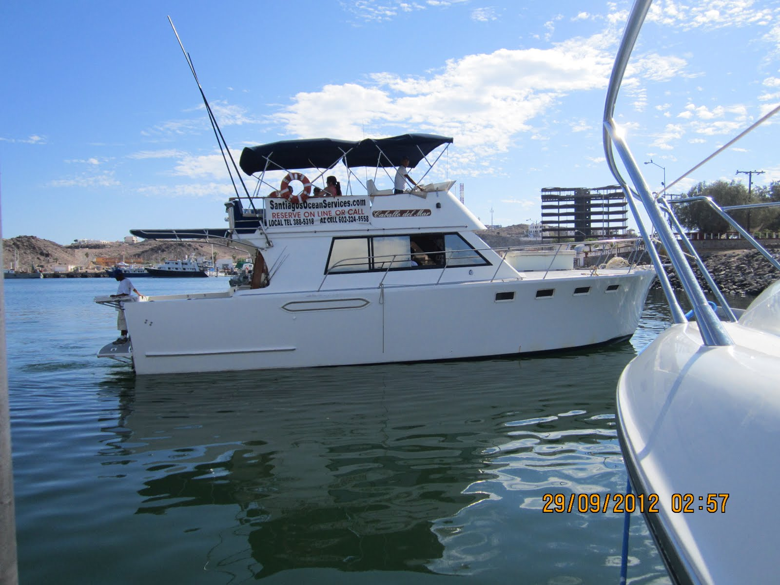Fishing in rocky point fishing boat caballo del mar at for Rocky point fishing charters
