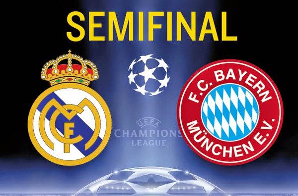 Real Madrid vs Bayern Munich Hoy