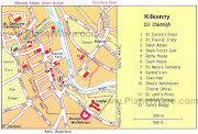 Kilkenny Map Regional City of Ireland . Map of Ireland City Regional . kilkenny map regional city