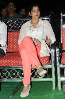 Actress Nishanthi Evani Pictures in Jeans at Second Hand Telugu Movie Audio Launch 0021