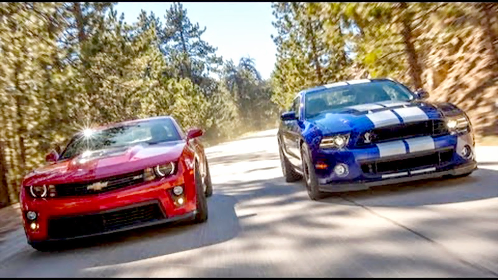 2014 Ford Mustang Shelby Gt500 Vs Camaro Zl1
