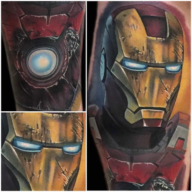 Iron Man arm tattoo ~ Tattoo Geek - Ideas for best tattoos