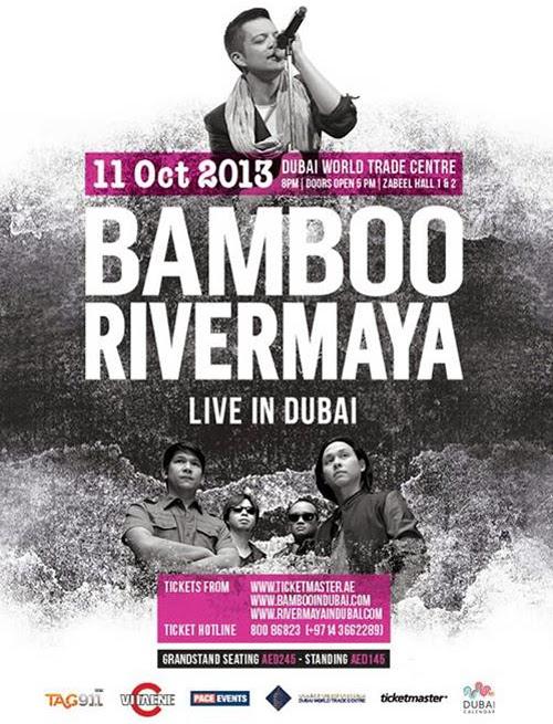 Bamboo and Rivermaya to rock Dubai