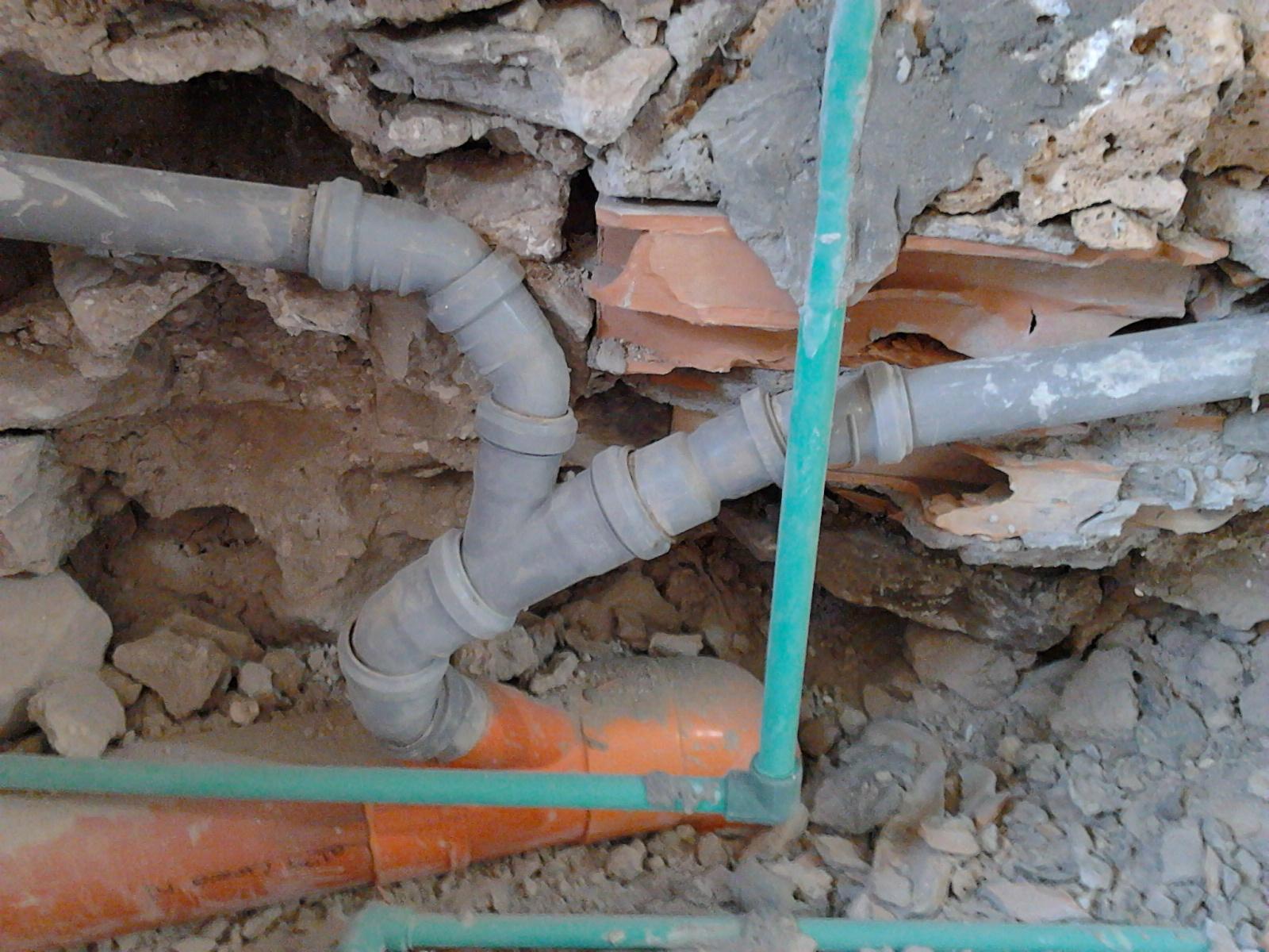 Il blog dell 39 idraulico tubo polipropilene saldato - Tubi scarico bagno ...
