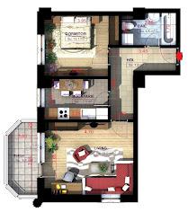Royal Town Copou Iasi - Apartament 2 camere - 54,80 mp