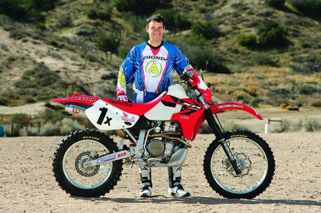 XR650R (Big Red Pig) Ownership: Rare Johnny Campbell pics aboard the 1x Honda XR650R