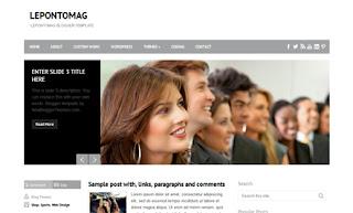 LepontoMag Blogger Template