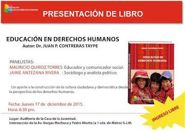 INVITACION A LA COMUNIDAD EDUCATIVA, JURIDICA Y PUBLICO EN GENRAL 17 DE DICIEMBRE HORA: 7.00 PM