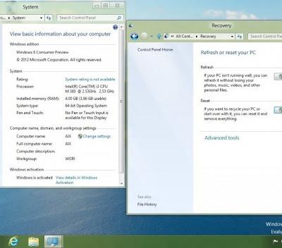 Windows 8 sin botón inicio