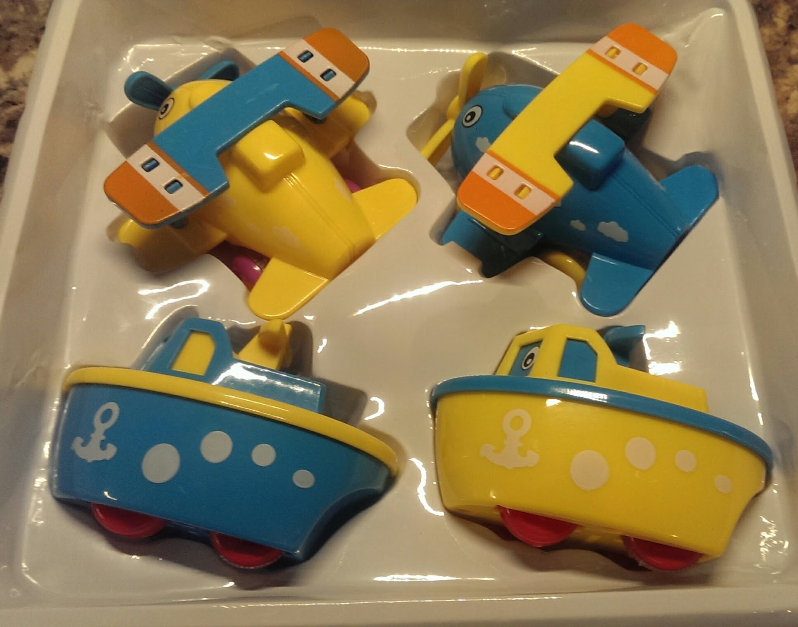 Not Just Another Southern Gal: Boats and Planes Fun Bath Toys for ...