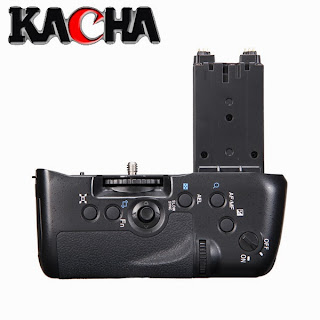Vertical DSLR Camera Battery Grip for Sony VG-C77AM Alpha A77 as NP-FM500H