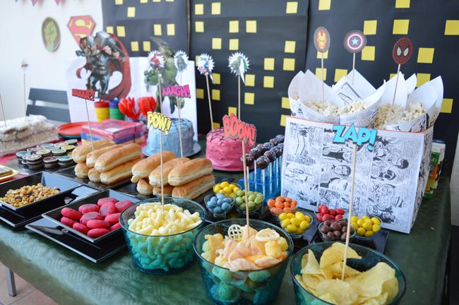 mcompany style fiesta de cumplea os de superh roes