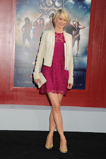 Jenna Elfman  Rock of Ages red carpet in LA