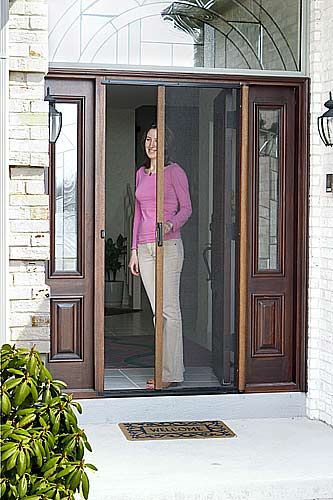 Patio shade solutions enjoy the fresh air with for What is the best retractable screen door