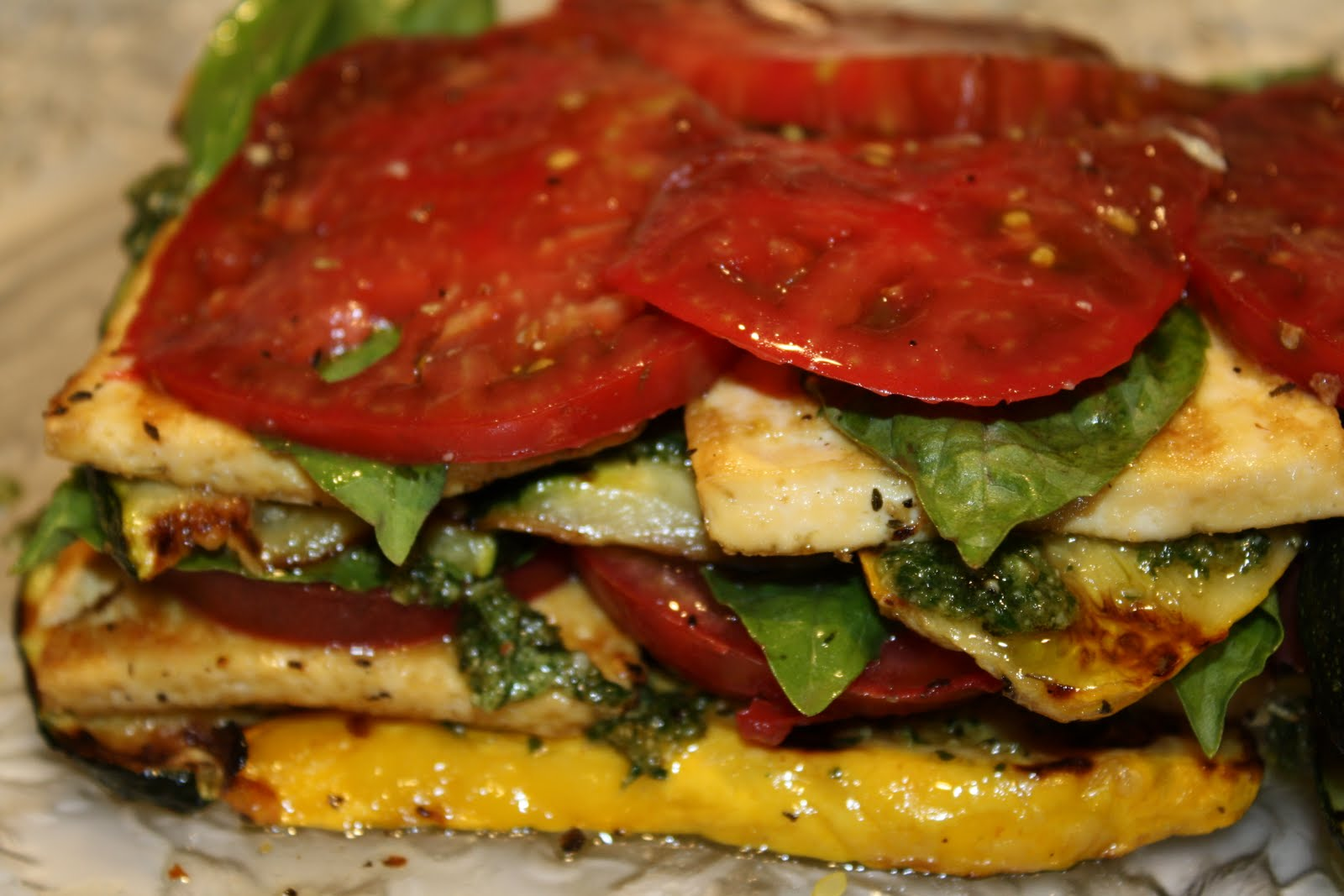 Dreamin' It Vegan: Perfect Summer Grilled Dinner & Cleo dog