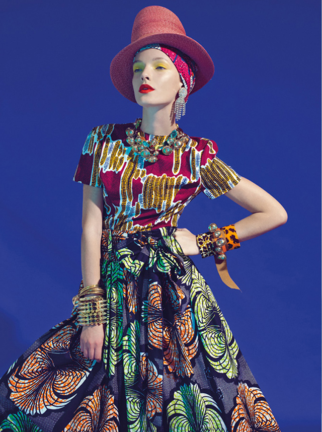 MIxing print is the new black- Stella Jean Spring Summer 2013 collection