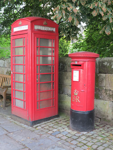 Post Box and Telephone Box