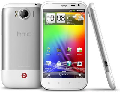 HTC Sensation XL review, feature and specifications, Android OS v2.3 Gingerbread with HTC Sense 3.5
