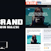 Brand: Magazine & News Wordpress Theme