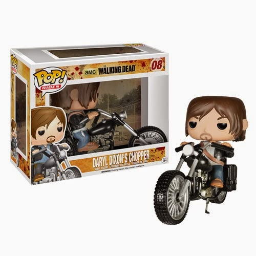 The Walking Dead Daryl Dixon's Chopper Pop! Ride with Daryl Dixon Pop! Vinyl Figure by Funko