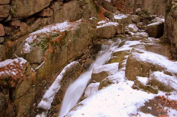 Wodospad Podgórnej - część górna