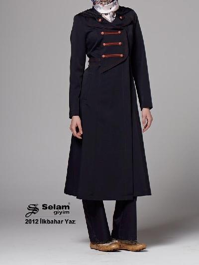Selam Giyim 2012 Yazlık Pardesü Modeli
