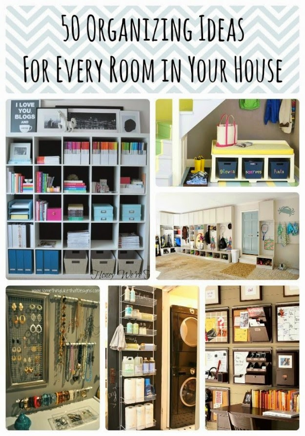 50 diy organization ideas for every room in your home for Bedroom organization ideas