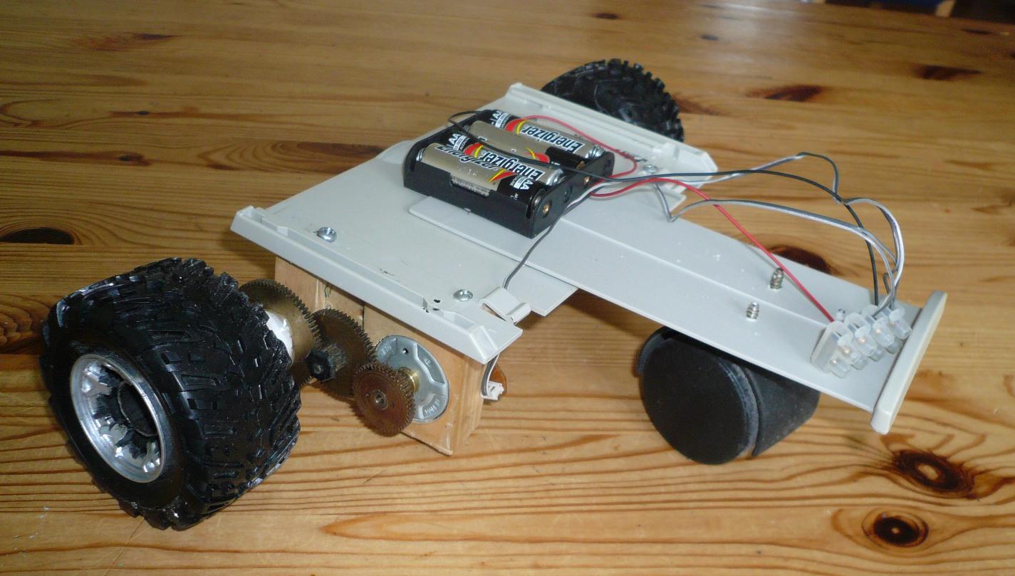 lectronique en amateur construction d 39 une base de robot 2 roues motrices. Black Bedroom Furniture Sets. Home Design Ideas