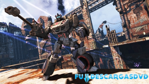 Transformers Fall Of Cybertron PC Full Español Skidrow Descargar 2012