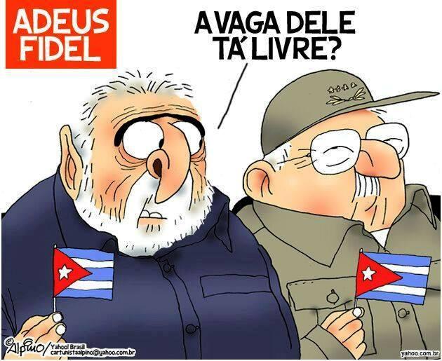 Enquanto isso em Cuba...