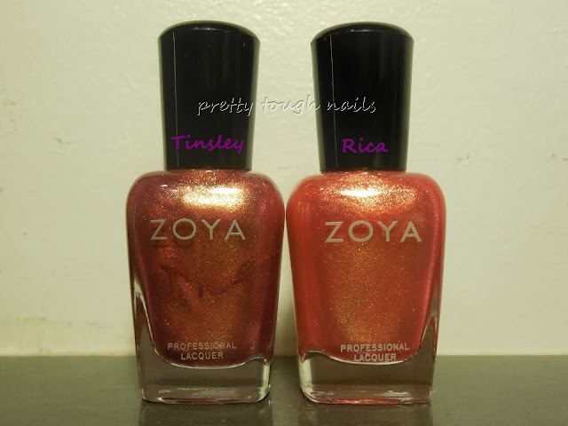Zoya Tinsley and Rica