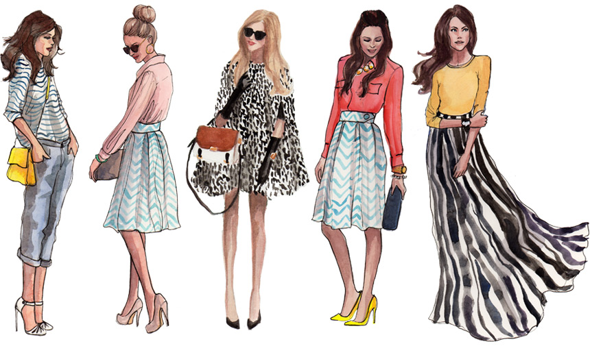 Fashion Illustration At It 39 S Finest Sydney Loves Fashion
