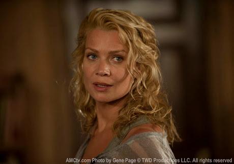 Laurie Holden es Andrea en TWD