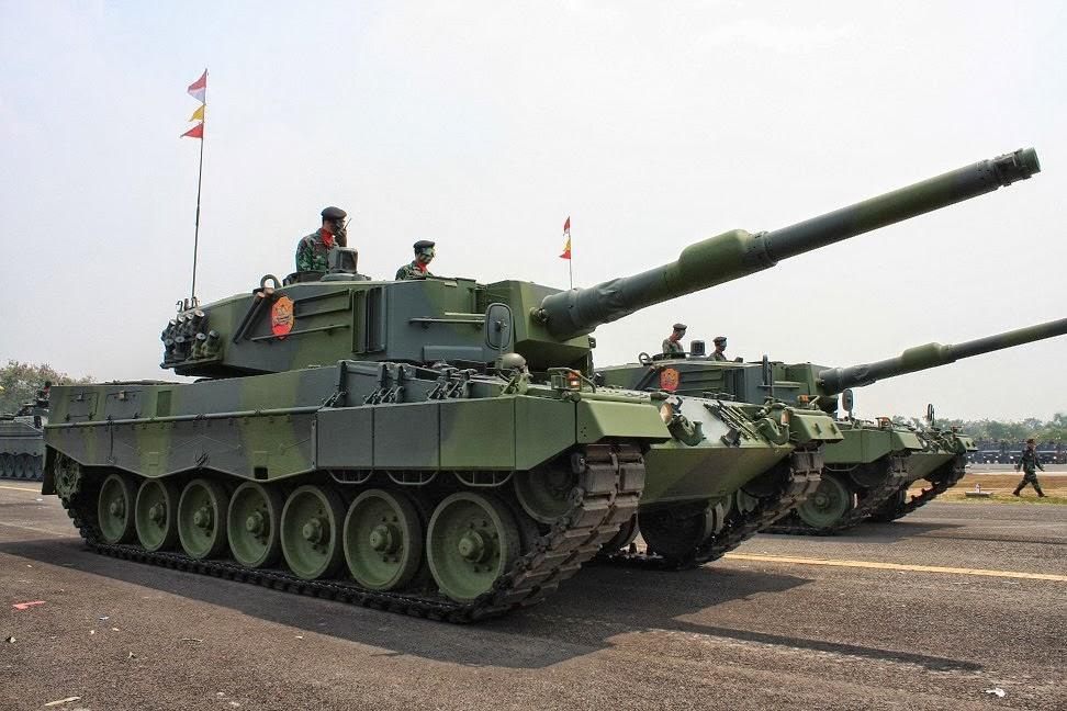 Militer Indonesia Sangat Membutuhkan Tank Leopard