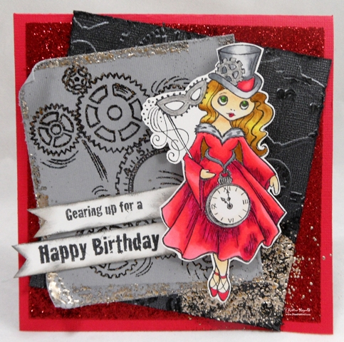 Stamping Scrapping In California Happy Birthday Laura