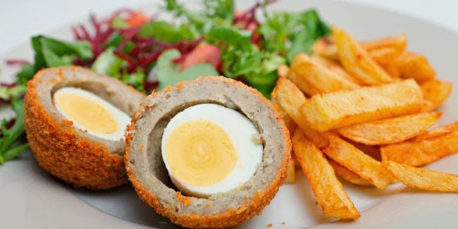 Resep Cara Membuat Scotch Egg