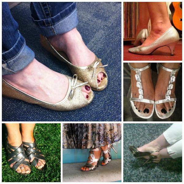 Friends Who Shine (the Metallic Shoe Edition)