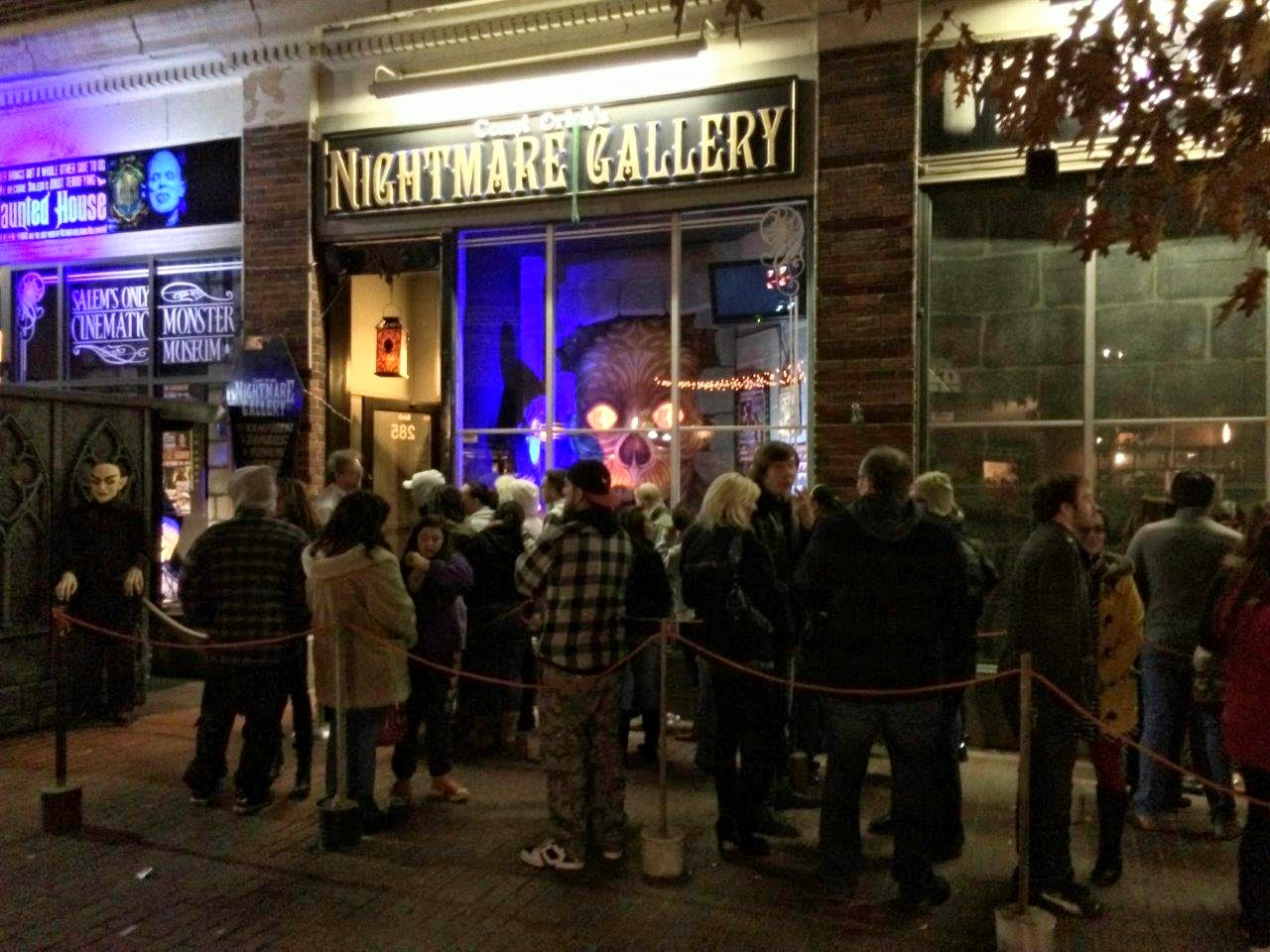 The Nightmare Gallery - Salem MA - Halloween New England