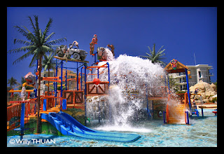 Kids Pool at Splash Jungle Water Park