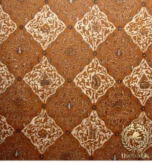 Batik Solo Motif Sido Drajad