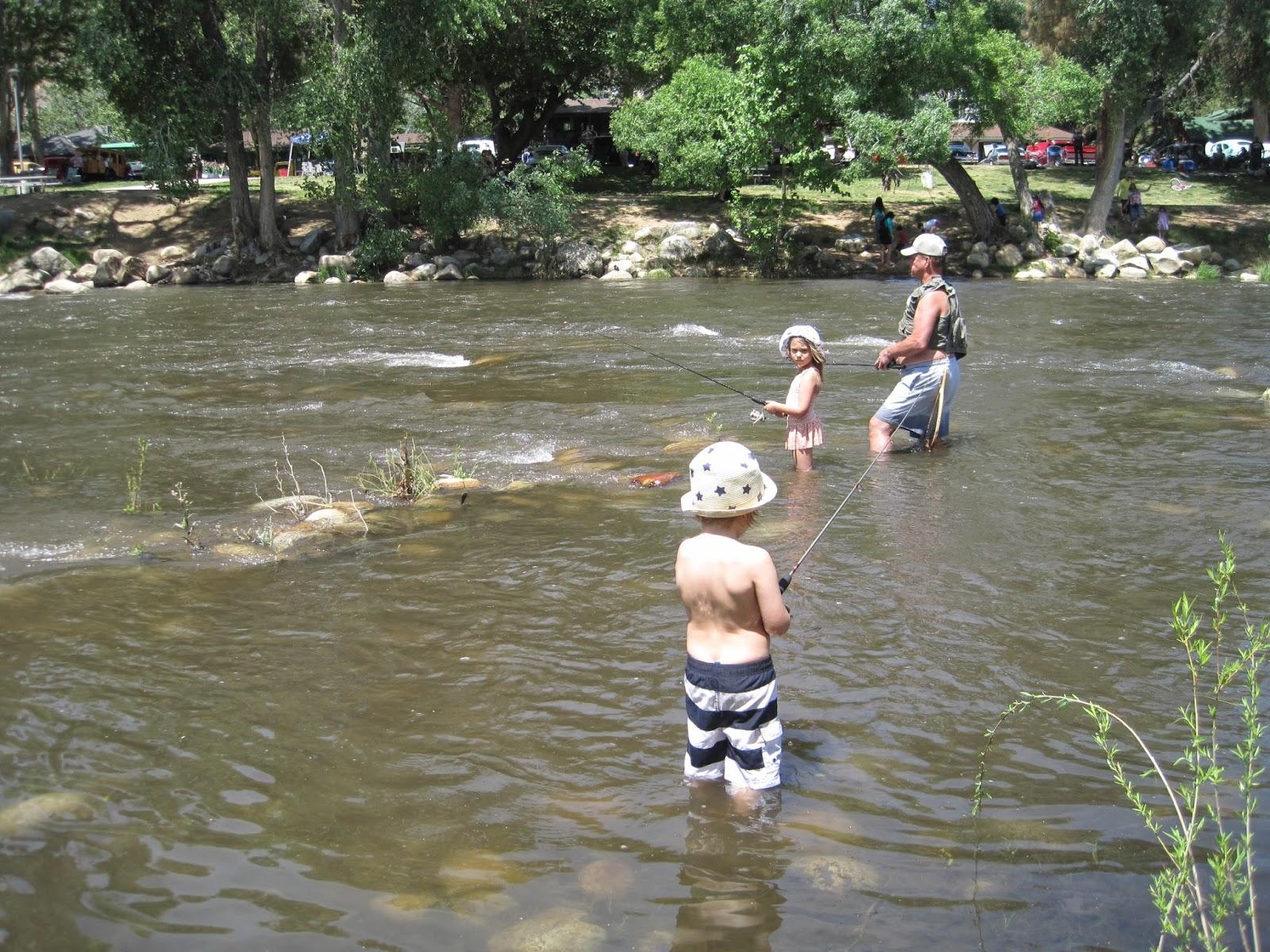 Jikits kern river for Kern river fishing