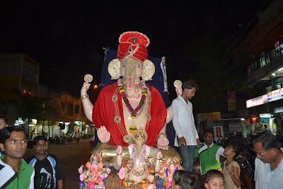 Ganpati 2012 Sandhya Vandan Society Surat